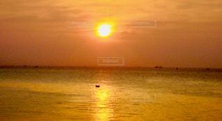 自然,海,空,屋外,太陽,ビーチ,夕暮れ,水面,海岸,光