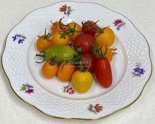 食べ物,テーブル,トマト,野菜,皿,食品,食材,フレッシュ,ベジタブル