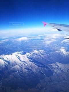 東北上空の写真・画像素材[2792773]