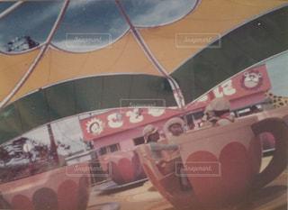 昭和50年前後。遊園地にて④の写真・画像素材[2850265]