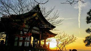 古都の日没の写真・画像素材[2857118]