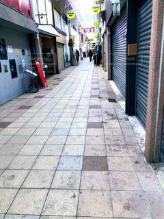 下町の商店街の写真・画像素材[2862724]