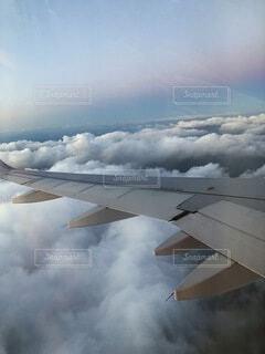 空の旅④の写真・画像素材[4054907]