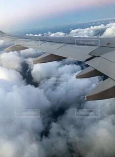 空の旅②の写真・画像素材[4054905]