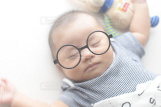 ファッション,アクセサリー,眼鏡,赤ちゃん,お昼寝,ベビー,丸眼鏡,メガネ