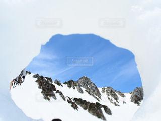 雪山デートの写真・画像素材[2812853]