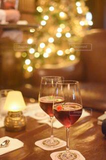 クリスマスメニューの写真・画像素材[2824673]