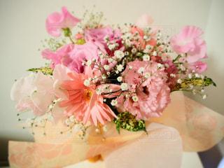 ピンクの花束の写真・画像素材[3090917]