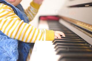 ピアノのクローズアップの写真・画像素材[3170278]