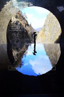 山の眺めの写真・画像素材[3241107]