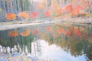 川のぼやけたイメージの写真・画像素材[3712515]