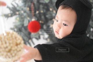 はじめてのクリスマスの写真・画像素材[3976850]