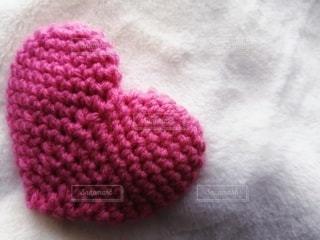 ピンクのハートの写真・画像素材[2932253]