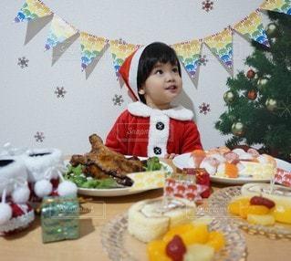 クリスマスパーティーの写真・画像素材[2825965]