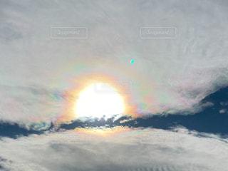 空,屋外,太陽,雲,光
