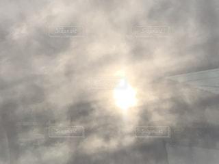 海,空,太陽,雲,光,くもり,タイミング,部分日食