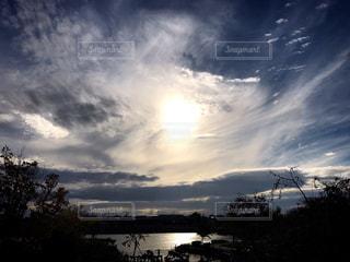 自然,風景,空,湖,太陽,雲,水面,光,樹木,くもり,開放感,日中,魅せられて