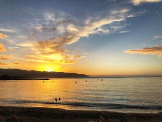 自然,風景,海,空,屋外,太陽,ビーチ,夕暮れ,水面,光,ハワイ,ノースショア,ハレイワ