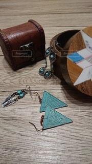 アンティーク木箱の写真・画像素材[2811141]
