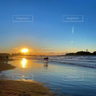 風景,海,空,太陽,朝日,サーフィン,ビーチ,波,海岸,正月,お正月,江ノ島,日の出,湘南,新年,初日の出