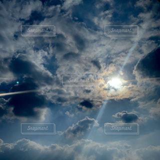 風景,空,屋外,太陽,雲,青,光,外,写真,くもり,日中,クラウド
