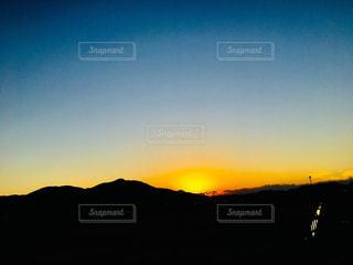 自然,風景,空,屋外,太陽,青,夕暮れ,山,光,写真,日中