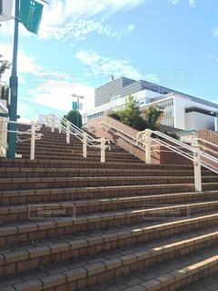 練馬の階段の写真・画像素材[2778330]