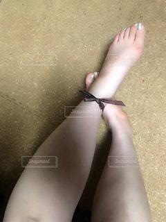 足にも…の写真・画像素材[1003580]
