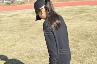 公園で遊ぶ女の子の写真・画像素材[2863544]