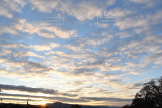 空の雲の群の写真・画像素材[2859302]