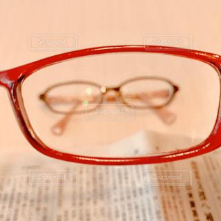 ピンぼけメガネの写真・画像素材[2791602]