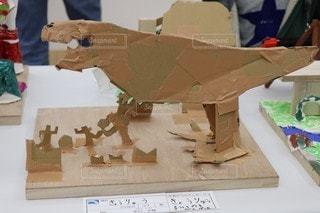 書類,段ボール,恐竜,クラフト,紙,ジオラマ,ダイナソー,データ