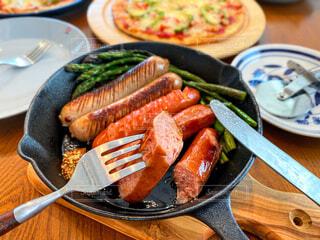 朝食,ランチ,美味しい,ソーセージ,ブランチ,肉汁,ジョンソンヴィル