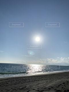 自然,海,空,屋外,太陽,ビーチ,砂浜,水面,光,日中
