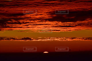 自然,風景,空,富士山,屋外,太陽,雲,山,夜明け,オレンジ,光,日の出