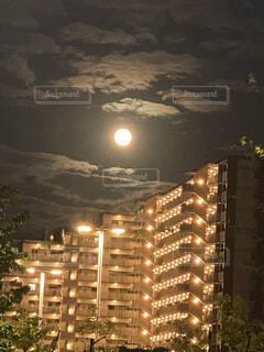 自然,風景,空,屋外,月