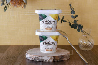 サンモレ バニラチーズムースの写真・画像素材[3962171]