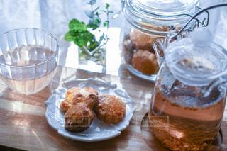 食べ物,カフェ,朝食,瓶,パン,デザート,テーブル,リラックス,お菓子,クッキー,おうちカフェ,ドリンク,おうち,菓子,ライフスタイル,手作りクッキー,おうち時間