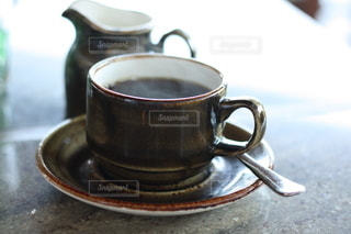 朝のブレンドコーヒーの写真・画像素材[2900156]