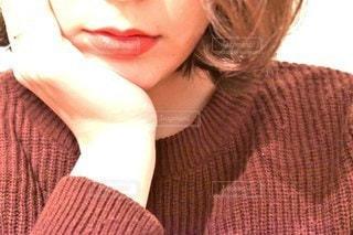 Red lips?の写真・画像素材[2898195]