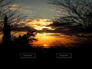空,屋外,太陽,夕暮れ,光