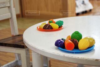 ままごとの成果物の写真・画像素材[3684345]