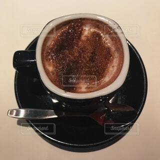 一杯のホットチョコレートの写真・画像素材[4182132]