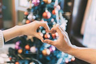クリスマスデートの写真・画像素材[2859848]
