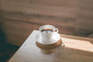 喫茶店のコーヒーの写真・画像素材[4603077]