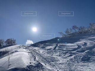自然,アウトドア,空,スポーツ,雪,屋外,山,人物,スキー,ゲレンデ,レジャー,斜面,日中