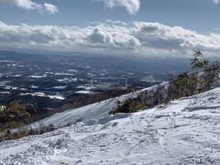 自然,風景,アウトドア,空,スポーツ,雪,屋外,山,人物,スキー,ゲレンデ,レジャー,斜面,日中,山腹