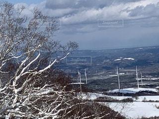 風景,アウトドア,空,冬,スポーツ,雪,屋外,山,樹木,人物,ゲレンデ,レジャー,山腹