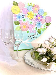 結婚式の寄せ書きの写真・画像素材[2901413]