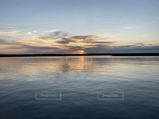自然,風景,海,空,太陽,晴れ,水面,海岸,光,日の出